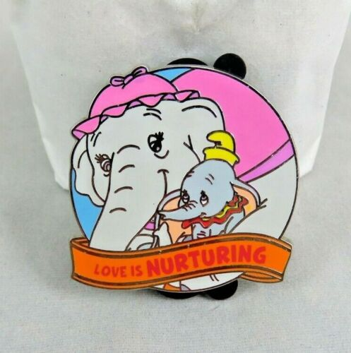 Disney Pin - Love Is An Adventure 2017 Mystery - Mrs. Jumbo and Dumbo - Chaser