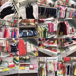 Children clothing store for sale!
