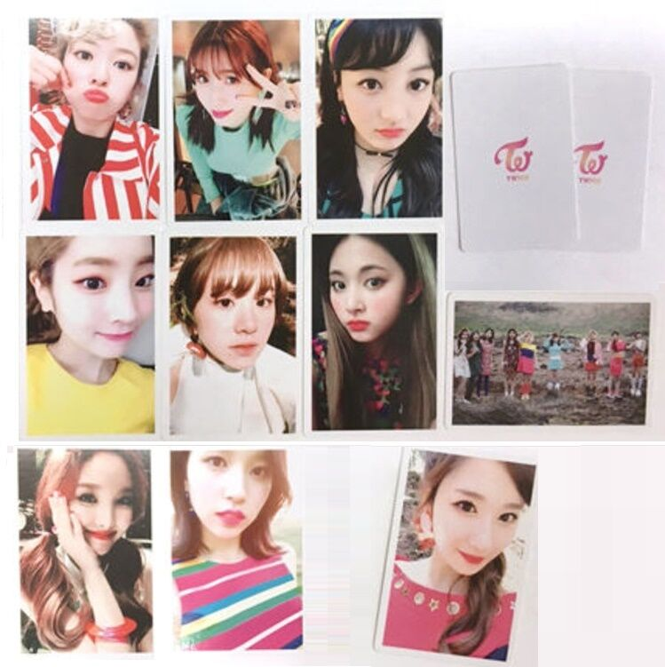 TWICE SIGNAL 4th Mini Album Official Photocard Preorder Benefit 10pcs Set +  Gift