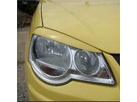 Citroen Saxo Polo Fiat Punto vw Golf BMW e36 headlight light brows trim frame styling