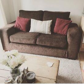 Sofa Chocolate Brown