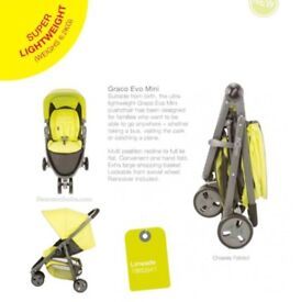 Grace Evo Mini- baby stroller /pushchair in very good condition