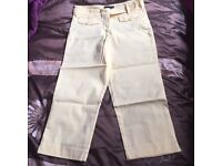 Stunning cropped trousers / pedal pushers 50's vintage style design