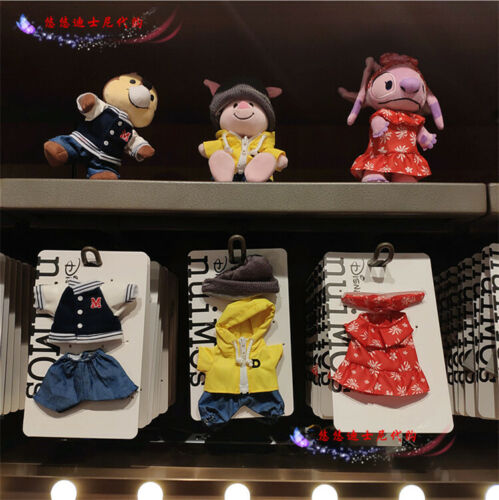 Authentic Shanghai Disney Nuimos Plush Change Costume Outfits For 16cm Doll