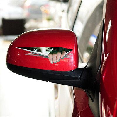 Funny Peeking Monster Scary Eyes For Car/Bumper/Window Vinyl Decal Sticker CA