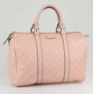 Pink Leather Gucci Purse, Authentic