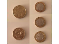 Rare Collectors Coins (50p £1 £2)