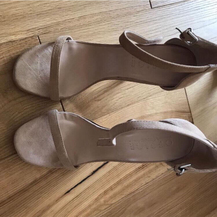 C brand new Office beige heels size 7