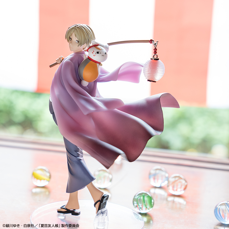 Natsume/'s Book of Friends Nyanko Sensei charm set of 5 Summer festival ver,
