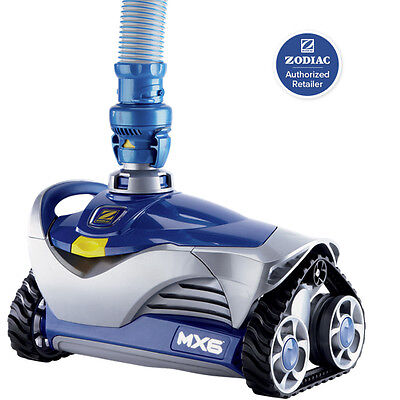 Zodiac Baracuda MX6 Suction Swimming Pool Cleaner New In Box + Hoses