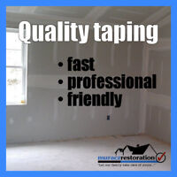 QUALITY TAPING - FAST ESTIMATES!!