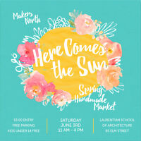 Makers Wanted: HERE COMES THE SUN Spring Handmade Market