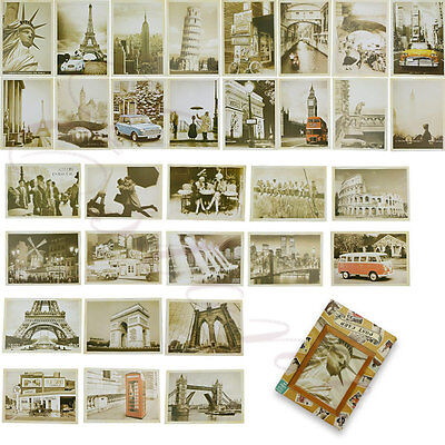 Lot of 32 Travel Postcard Vintage Landscape Retro Photo Picture Poster Post Card