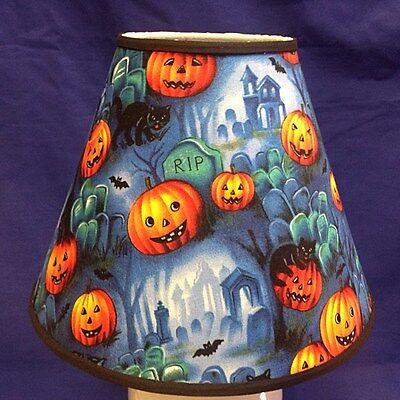 Tombstone Halloween Handmade Lamp Shade Lampshade - Halloween Lamp Shades