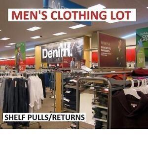 200 ASSTD MEN'S CLOTHING LOT 104955845