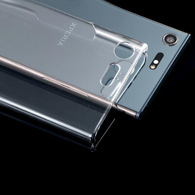 (For Sony Xperia XZ Premium Crystal Clear PC hard case DIY case Back cover)