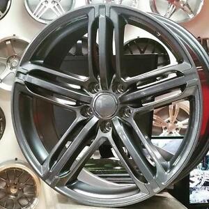 FAST R133A  Audi Replica Wheels . 4 New $850 + Tax (4 Wheels) @Zracing 9056732828 Rims Wheels Audi A4 A5 S4 S5 Q5 SQ5 Q7