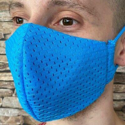 M Coolmax® Mesh Arbeitsmaske 8⏱ Mundschutz maske türkis atmungsaktiv ventil büro
