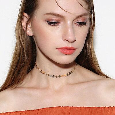 $1.99 - Women Fashion Choker Simple Collar Bib Necklace Charm Pendant Gothic Jewelry