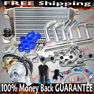 Turbo Kits w/SS Manifold for BMW M3 323 325 328 E30 I6 SOHC T3  M20 2.5L/2.7L
