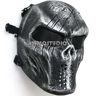 Black Panther Mask Cosplay Full Head Halloween Mad Max Super Hero Cosplay Party - Black Hero Mask