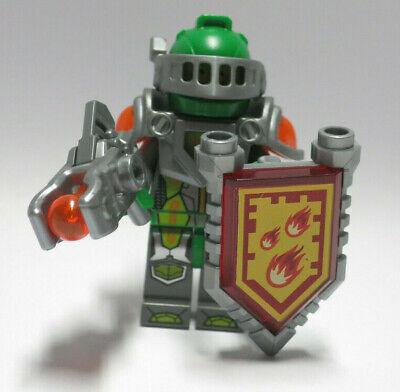 Aaron 70325 70317 Silver Armor Shield Power Nexo Knights LEGO Minifigure Figure