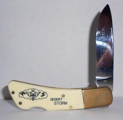 Vintage Silver Eagle Hi-Stainless Desert Storm Pocket Knife No.11625 for sale  Knoxville