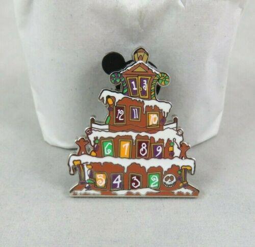 Disney Disneyland Pin - Haunted Mansion Holiday Gingerbread Mystery - Countdown