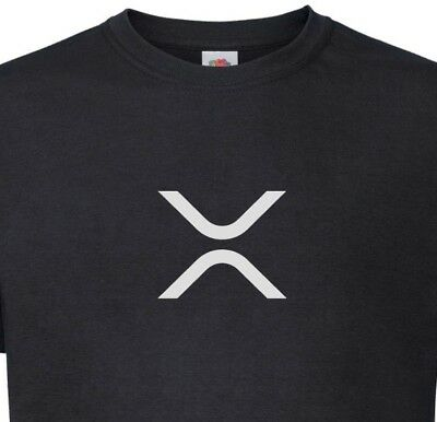Xrp  Ripple  T Shirt New Logo Symbol   Xrpcommunity Crypto By My Cup Of Tee