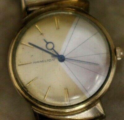 Vintage Gold Filled Hamilton Men's Automatic Wristwatch.