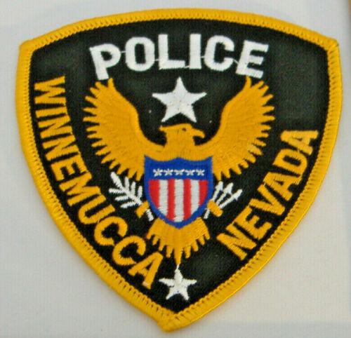 WINNEMUCCA POLICE~ NEVADA FABRIC PATCH