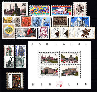 BERLIN - Jahrgang 1987 (= Nr. 772-797) postfrisch/** komplett
