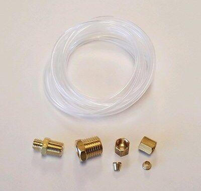 Oil Pressure Gauge Line Kit NYLON Tubing 1/8