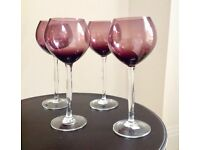 Elegant Wine Glasses set of 6 - NEW/UNUSED
