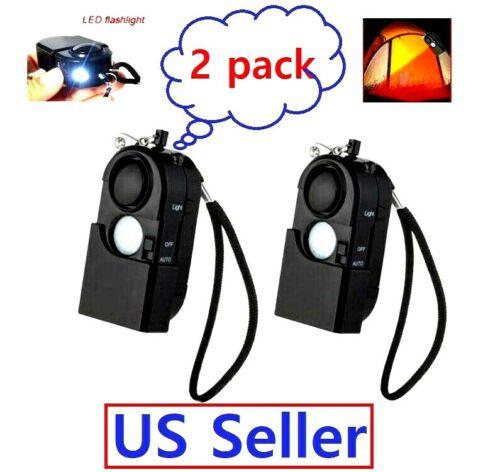 Camping Travel Portable Mini PIR Infrared Motion Sensor Security Alarm Detector