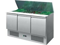 New Foodsville 3 Door Refrigerated Saladette - Get It Now PAY OVER 4 MONTHS