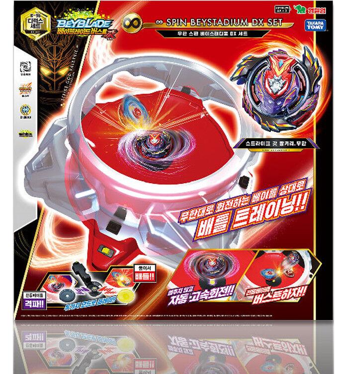 TAKARA TOMY Beyblade Burst B-96 Mugen Infinite Spin Bey stad