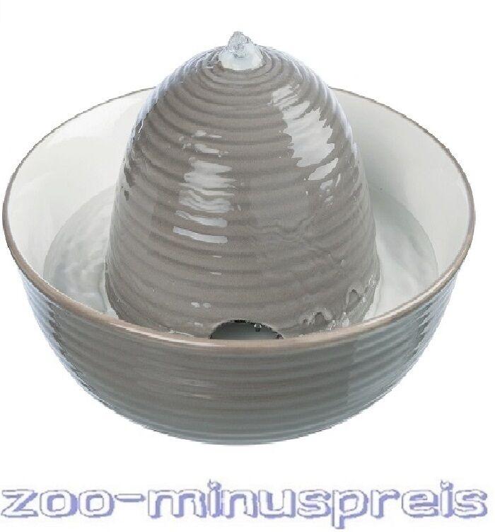 Hunde- oder Katzen Trinkbrunnen Keramik, VITAL FLOW, stabil und standfest