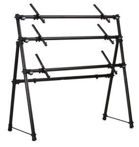 Keyboard Stand 3 Tier A-Frame BRAND NEW Boxed * On Stage Stands
