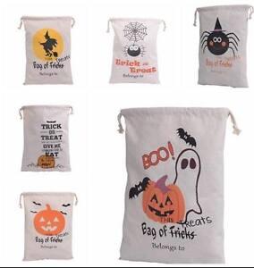 Personalized Halloween Sacks