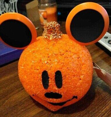Mickey Mouse Halloween (Halloween Disney Light up Mickey Mouse Jack O Lantern Pumpkin)