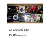 Dvd bundle 2 (12 dvds)