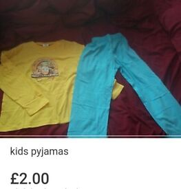 New kids farm pyjamas