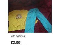 New kids farm pyjamas