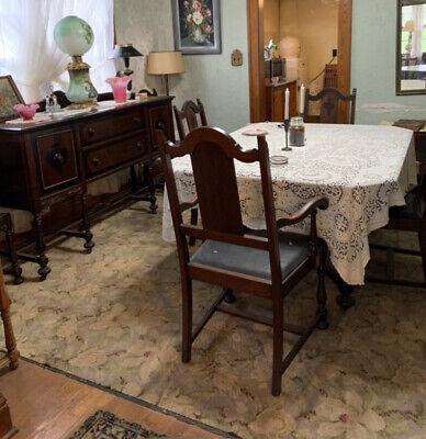 Dining Sets Antique Vatican, Antique Furniture Dining Room Set