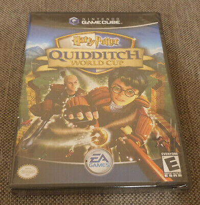 Nintendo GameCube Game Harry Potter Quidditch World Cup New NTSC USA