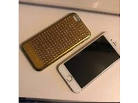Gold iPhone 6 16gb unlocked like new condition