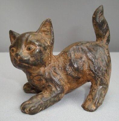 Statue Sculpture Cat Wildlife Art Deco Style Art Nouveau Style Solid bronze Sign