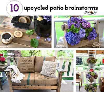 10 Upcycling Patio Brainstorms