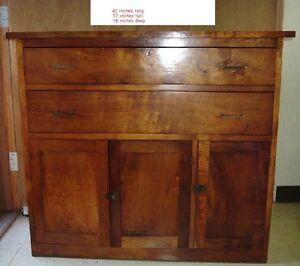Elegant Antique Koa Wood Cabinet Hawaii Hawaiian Furniture